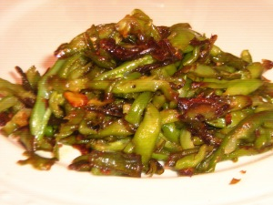 Good Bad Food: Garlic Green Beans